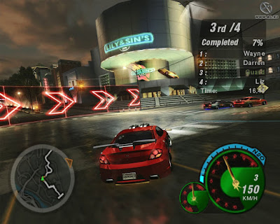 Download Need For Speed Underground 2 Highly Compressed Game For PC