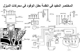 المختصر المفيد في انظمة حقن الوقود في محركات الديزل pdf