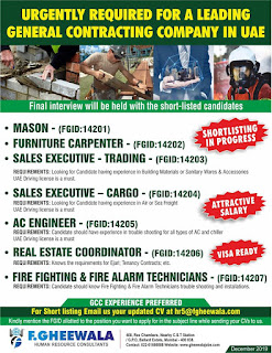 General Contracting Company jobs in UAE