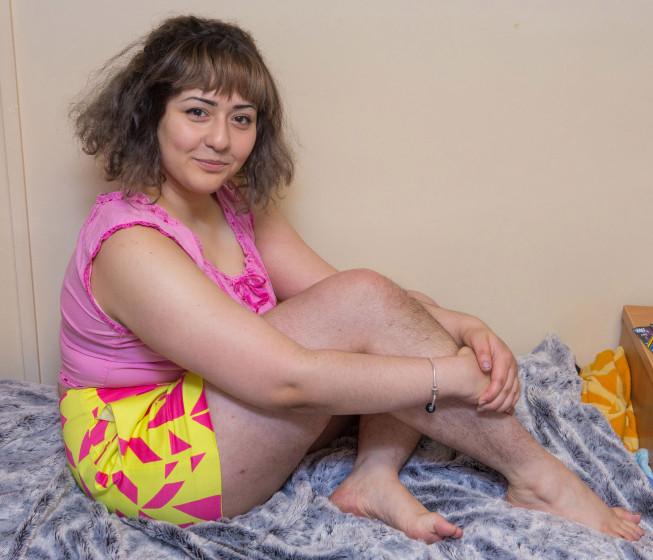 Домашнее фото волосатой русской бабы