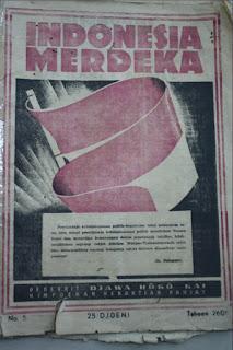 majalah Hindia Poetra menjadi indonesia merdeka