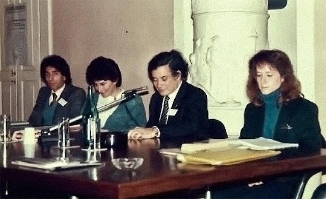 James Joyce Philadelphia University Tomaso Kdemeny 1987