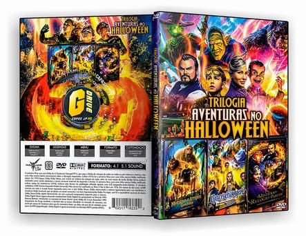 DVD Coleção - Trilogia Aventuras No Halloween (2019)