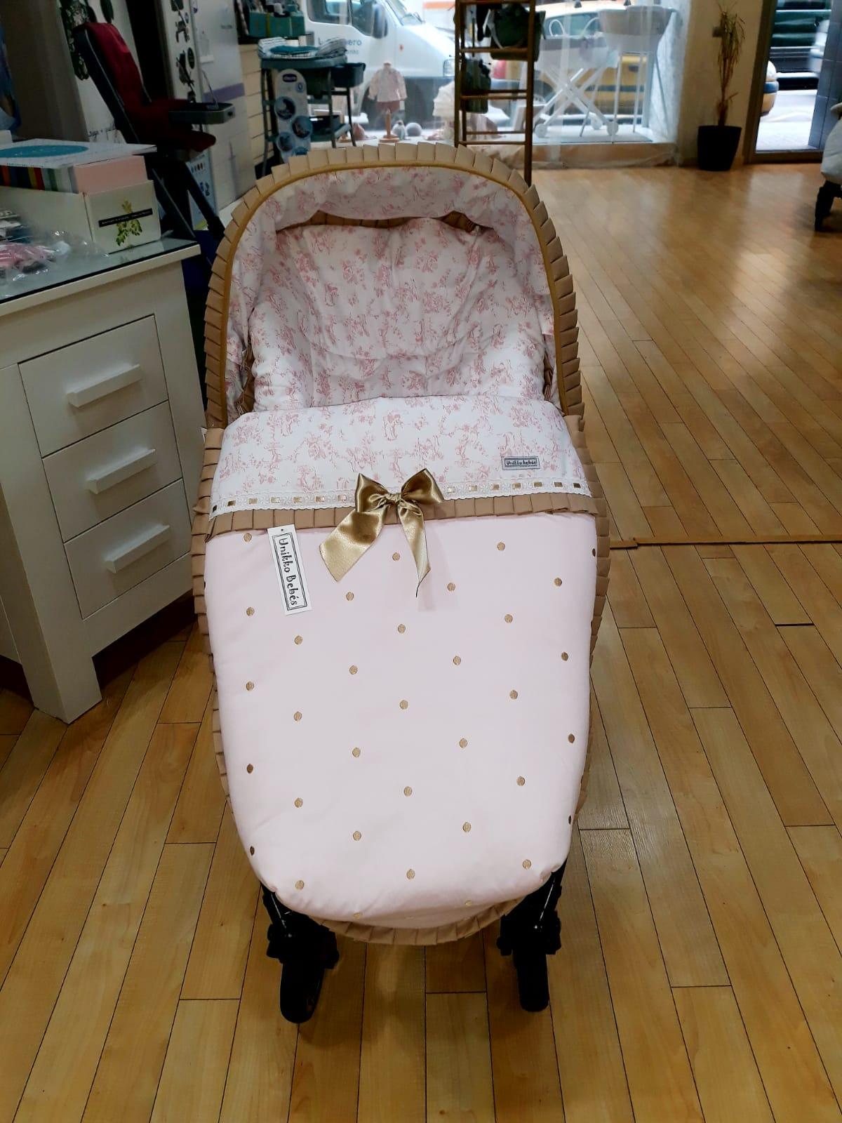 6060aea37cb3 Colección Coquette  piqué de canutillo rosa