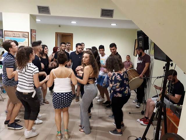 Αποχαιρέτησαν το καλοκαίρι με ένα παραδοσιακό Ποντιακό γλέντι οι φοιτητές στη Θεσσαλονίκη