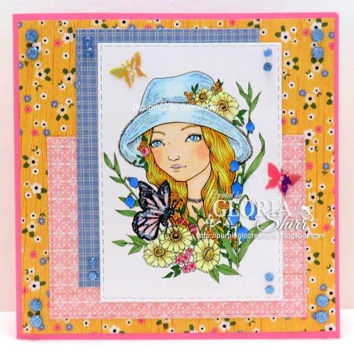 Featured Card at QKR Stampede Challenge Blog