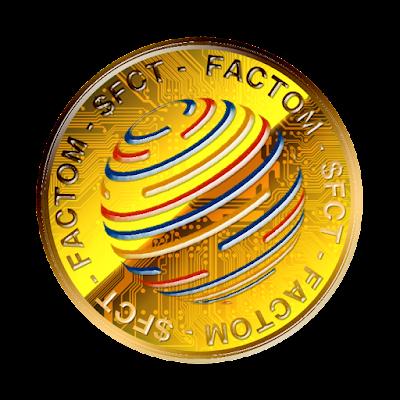 Factomのフリー素材(金貨ver)