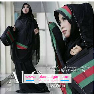 mukena%2Bgucci%2B%2526%2Bbluebarry2 Sambut Ramadhan dengan Mukena Al Gani Collection