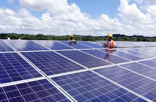 100MW solar power system