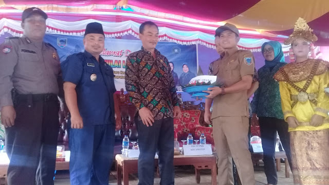 Desa Tanjung Baru Kecamatan Tanjung Tebar Menjadi  Mewakili Kecamatan Mengikuti Perlombaan Tingkat Kabupaten Lahat