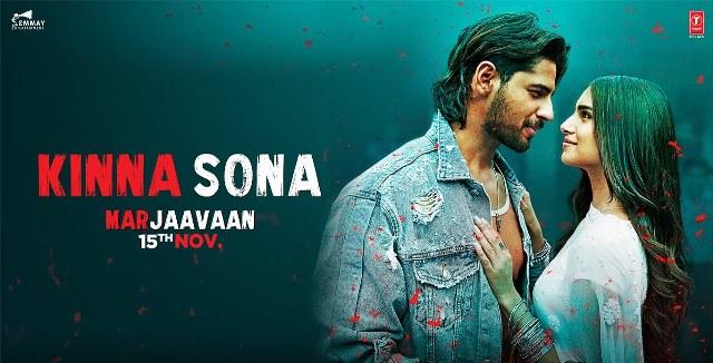 Kinna Sona Lyrics - Marjaavaan
