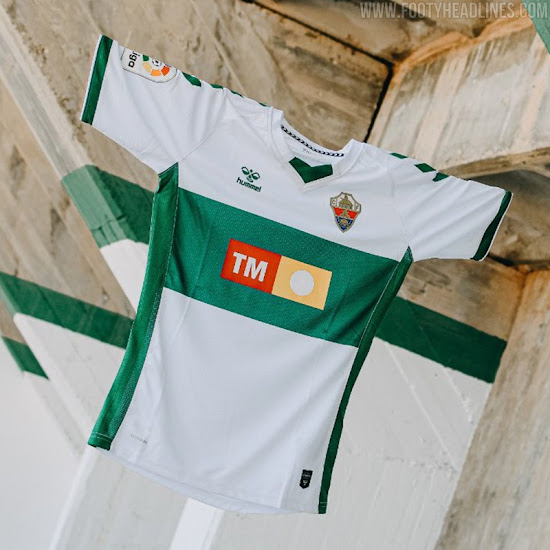 Elche 20-21 La Liga Home Kit Released - Footy Headlines