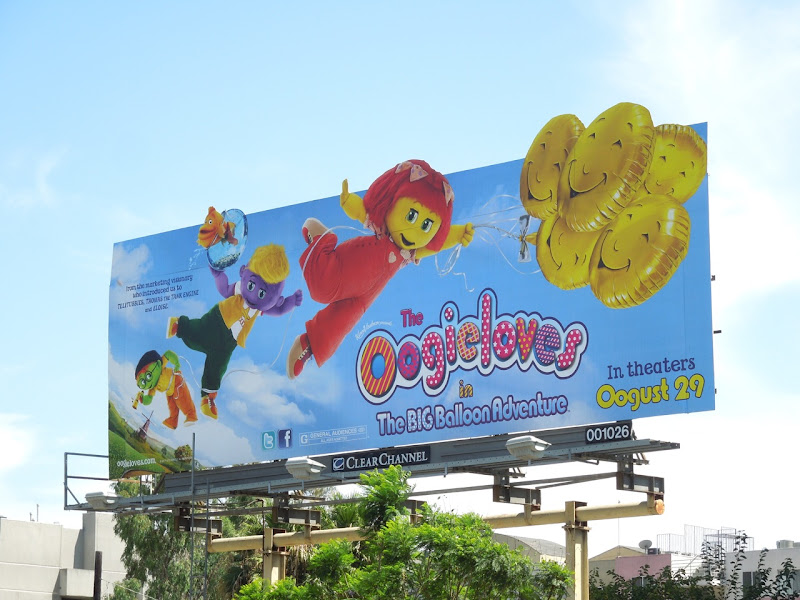 Oogieloves Big Balloon Adventure special extension billboard