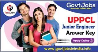 UPPCL JE Junior Engineer Answer Key