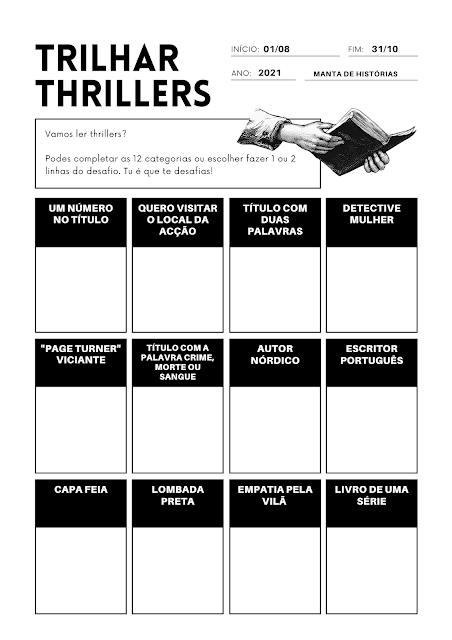 Trilhar Thrillers 2021