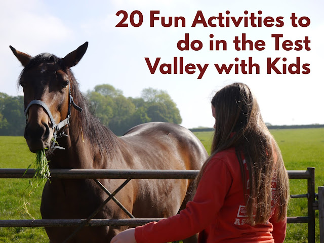 Suggestions of 20 great places to take the kids when you are staying in the Test Valley, Hampshire