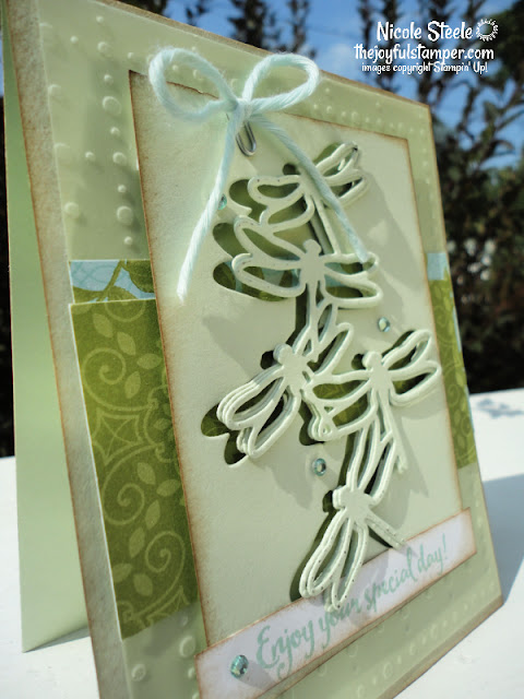 dragonfly dreams, stampin' up!, die-cut techniques, tropical, splitcoaststampers, card sketch, challenges, nicole steele, independent stampin' up! demonstrator, pittsburgh pa