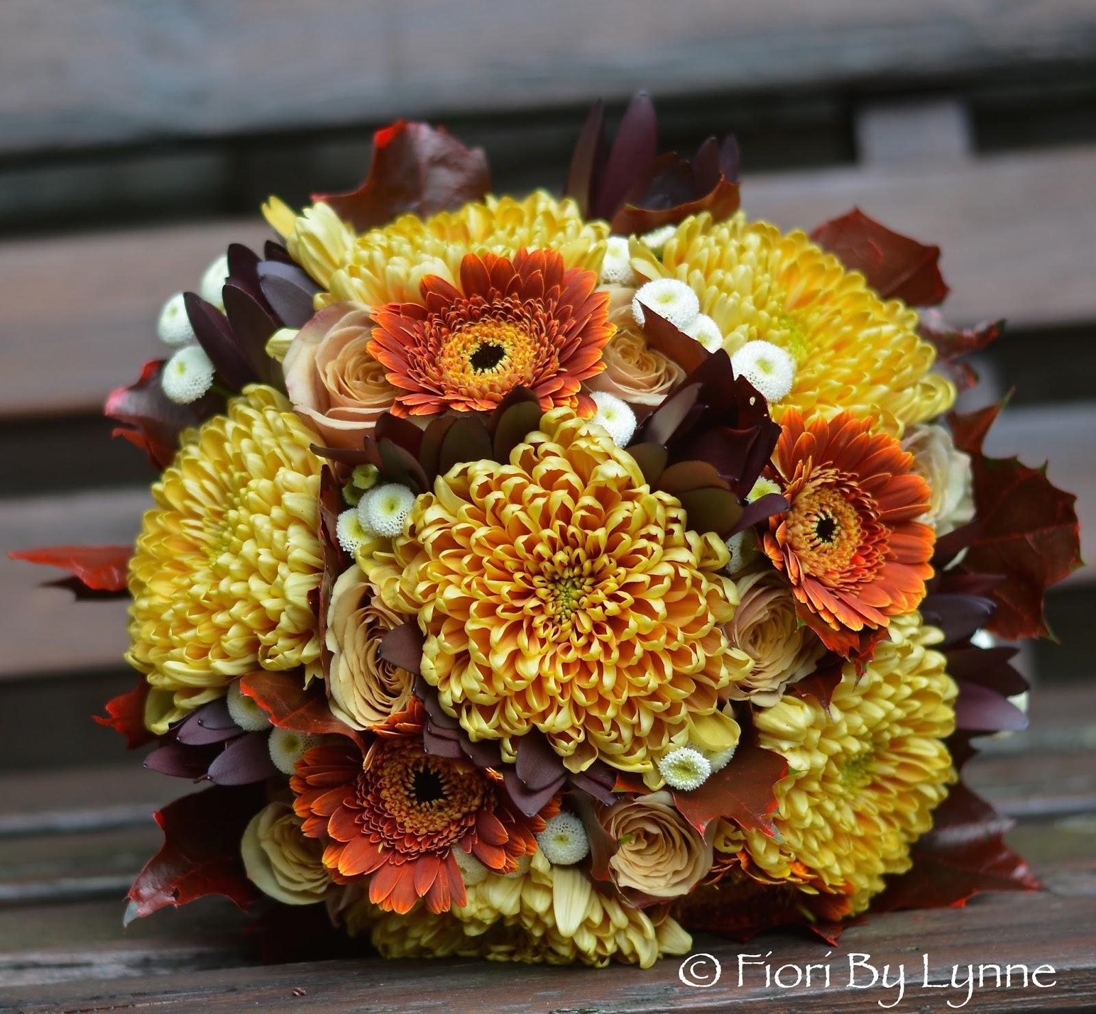 Wedding Flowers Blog: Emi's Autumnal Wedding Flowers ...