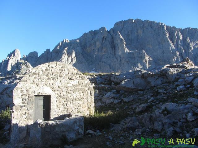 Refugio de Vega Huerta, en Picos de Europa