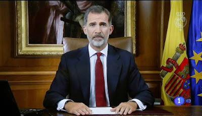 El Rey asegura que España está en momentos muy graves