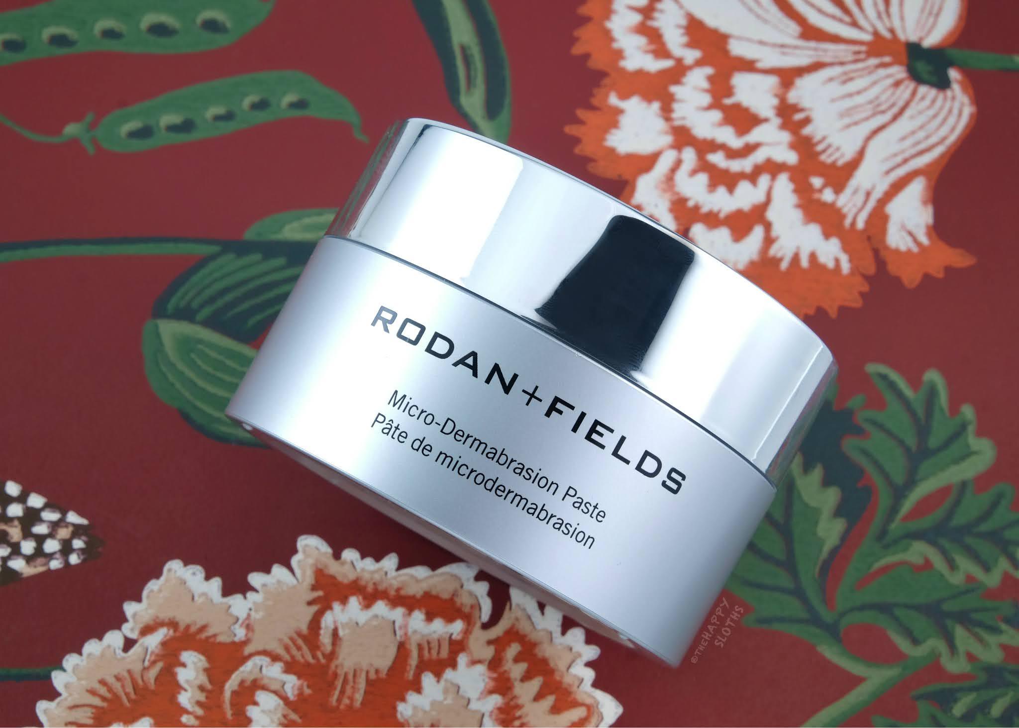 Rodan + Fields | Micro-Dermabrasion Paste: Review