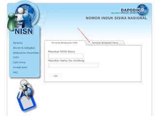 Cara Mengetahui NISN lewat Internet
