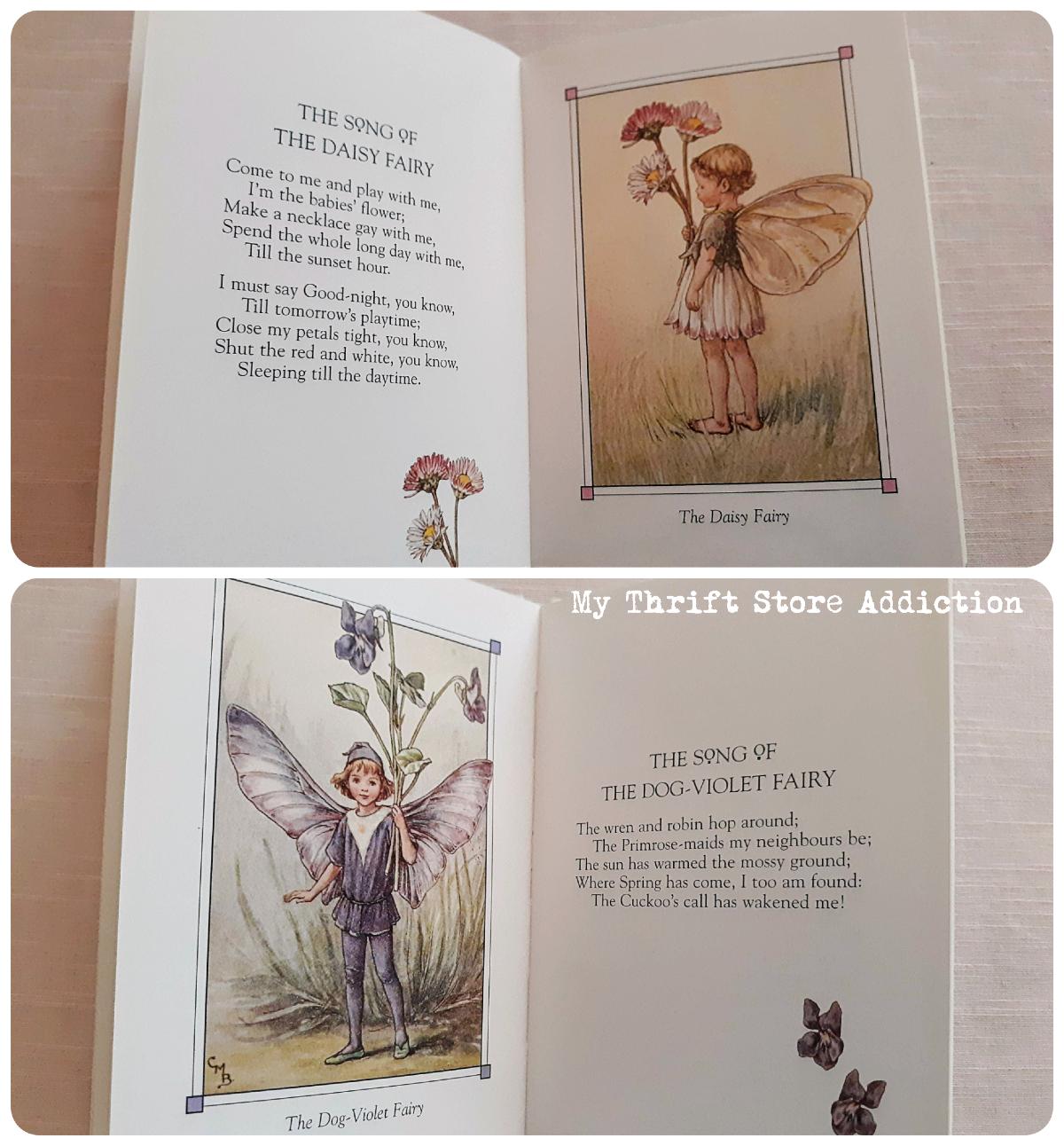 vintage fairy book