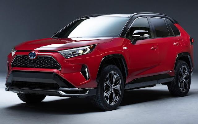 Toyota RAV4 2021 terá versão plug-in Hybrid