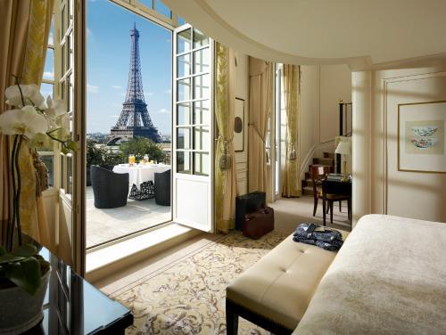 Hotel romântico em Paris