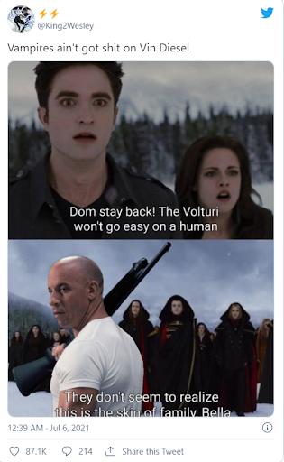 vampire vin diesel meme