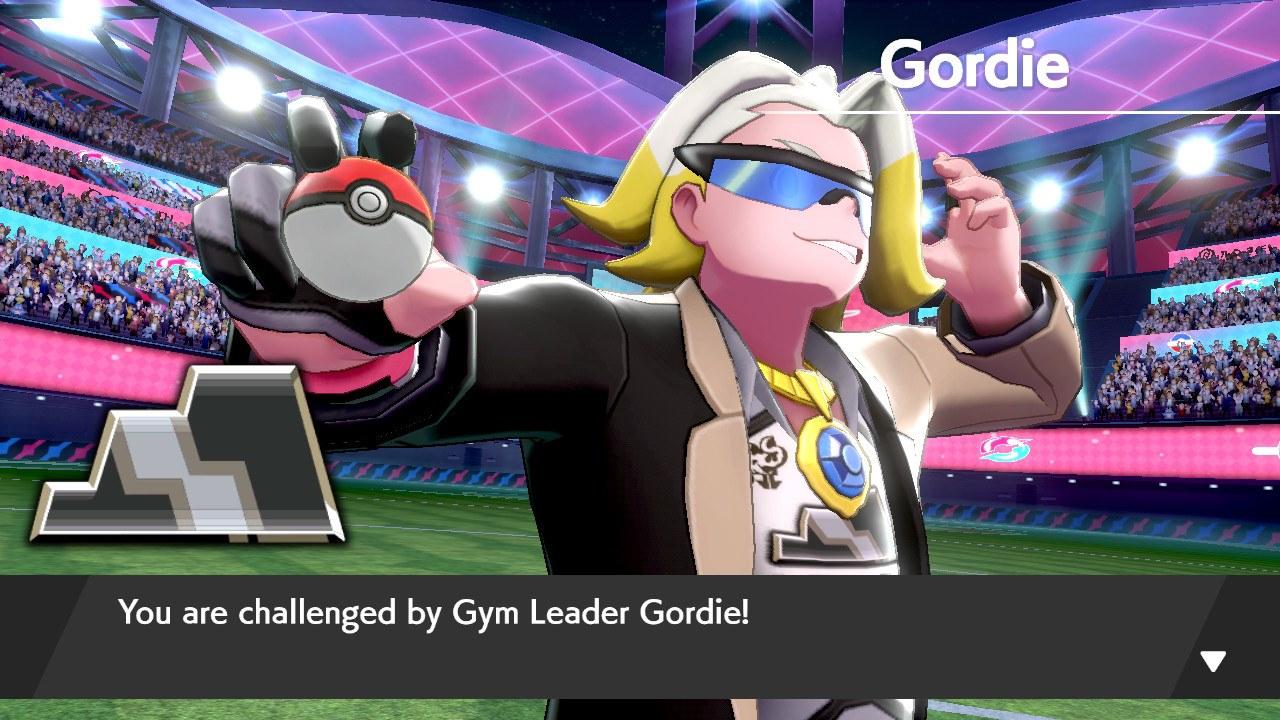 Gym leader Gordie