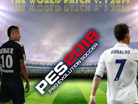 Patch PES 2018 Terbaru dari World Patch V1