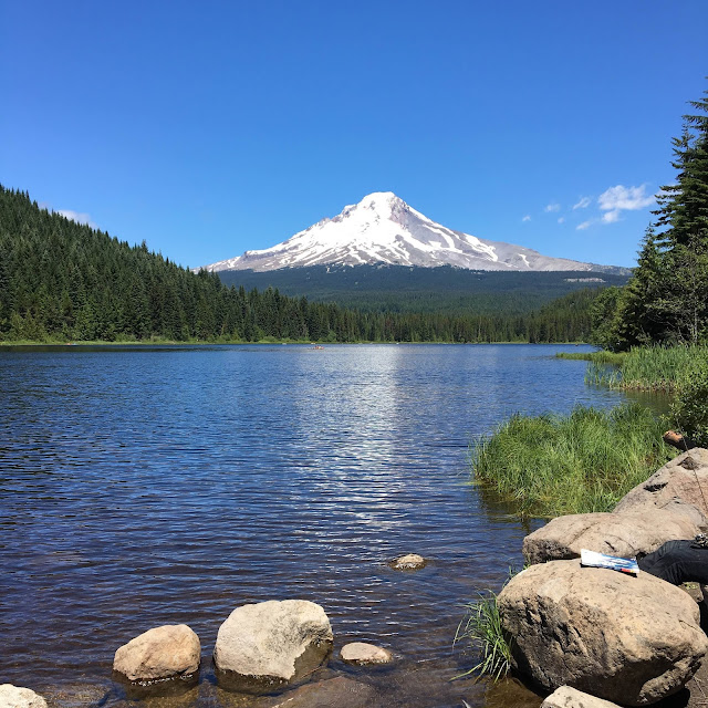 Trillium Lake, Oregon | A Hoppy Medium