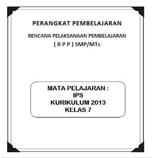 RPP K13 Mapel IPS Kelas 7 (Revisi)