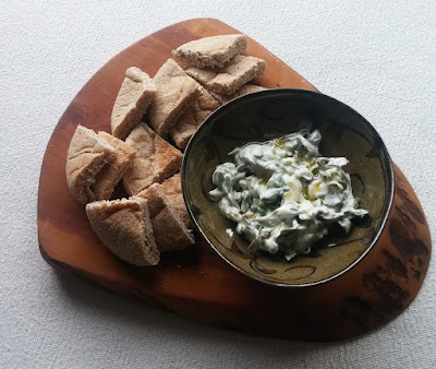 Purslane with Yogurt & Garlic (Yoğurtlu Semizotu)