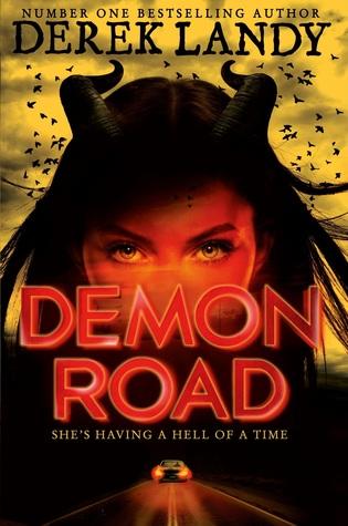 the book addicted girl demon road by derek landy. Black Bedroom Furniture Sets. Home Design Ideas
