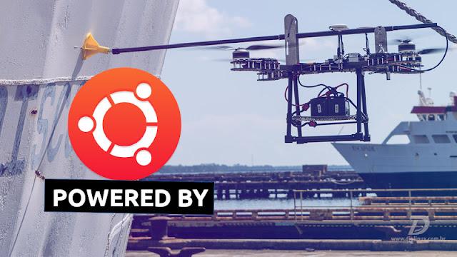 Drones baseados em Ubuntu
