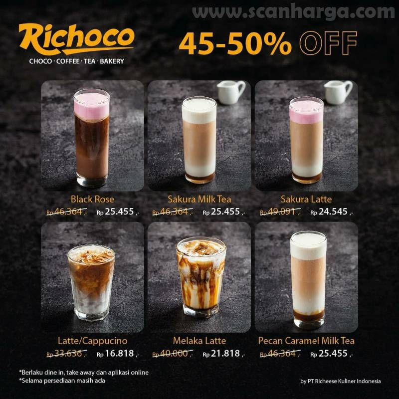 Richeese Factory Promo Richoco Diskon 40 - 50 Off