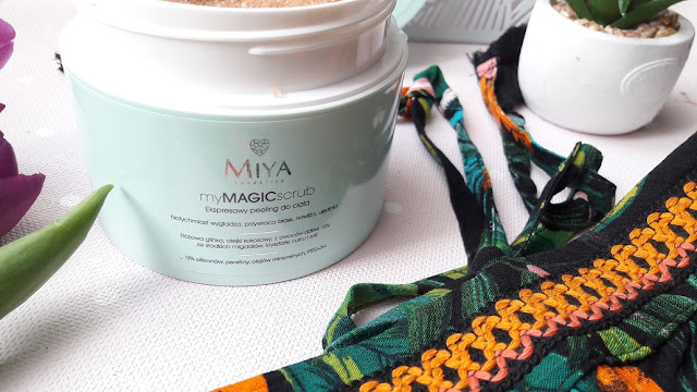 MIYA COSMETICS, EKSPRESOWY PEELING DO CIAŁA MY MAGIC SCRUB