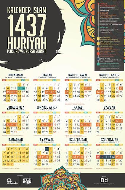kalender islam 1437H