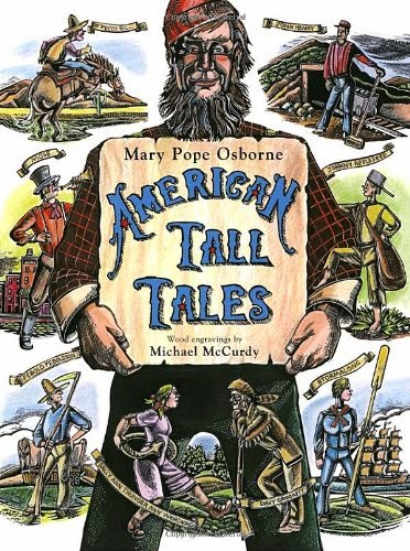 American Tall Tales, part of book review list about the United States