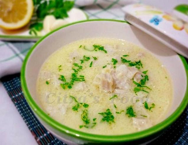 İşkembe Çorbası / Turkish style tripe soup | Çitra's Home Diary. #işkembeçorbası #offalrecipe #beeftriperecipe #turkishfoodrecipe #souprecipe