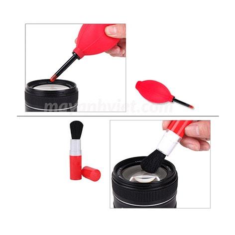 Bộ vệ sinh máy ảnh canon bút lau