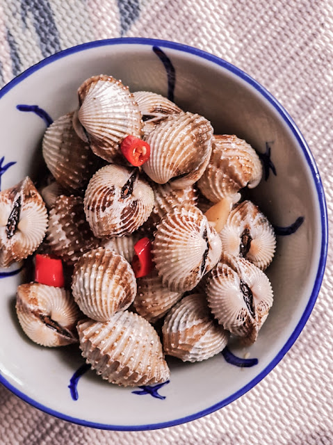 Recipe: Chinese-styled Soy Sauce Cockles