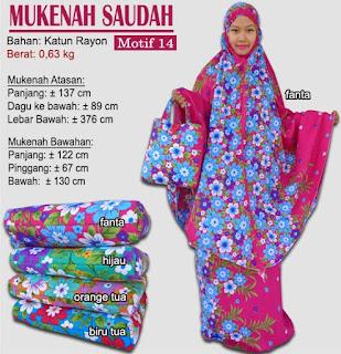 Grosir Mukenah Bali cantik -saudah motif 14