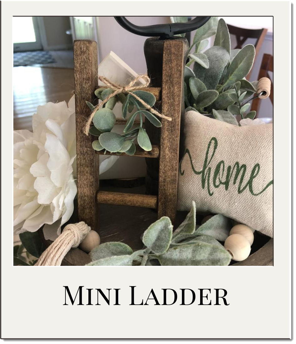 Mini Ladder for Tiered Tray