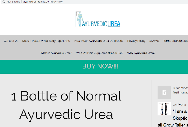 fake ayurvedic urea suppliers