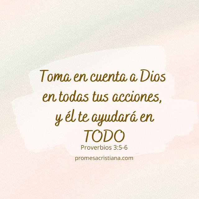 texto biblico proverbios Dios te ayuda promesa cristiana versiculo