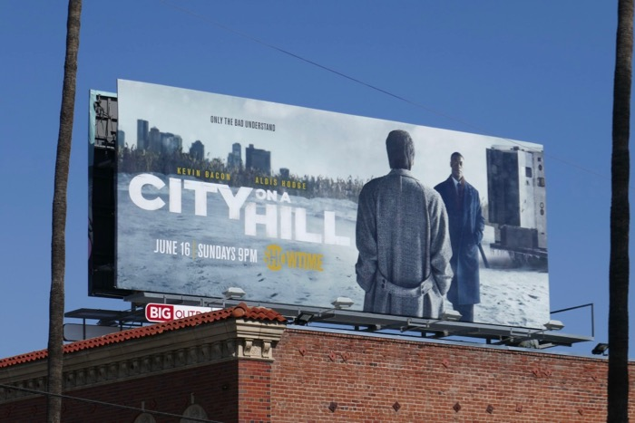 City on a Hill premiere billboard