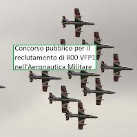 concorso pubblico aeronautica militare 2018